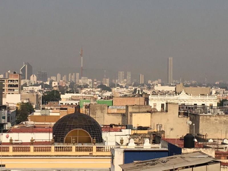 Mala calidad de aire asfixia a ZMG