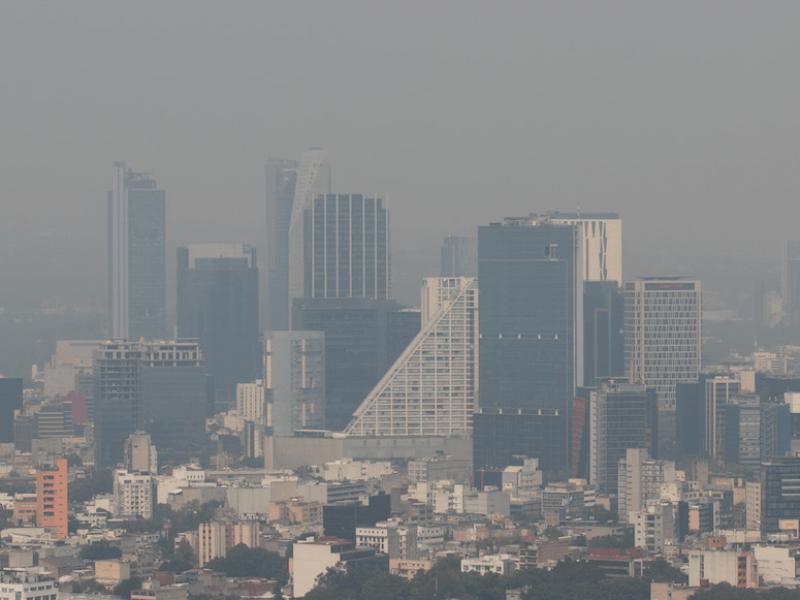 Mala calidad del aire en Valle de México