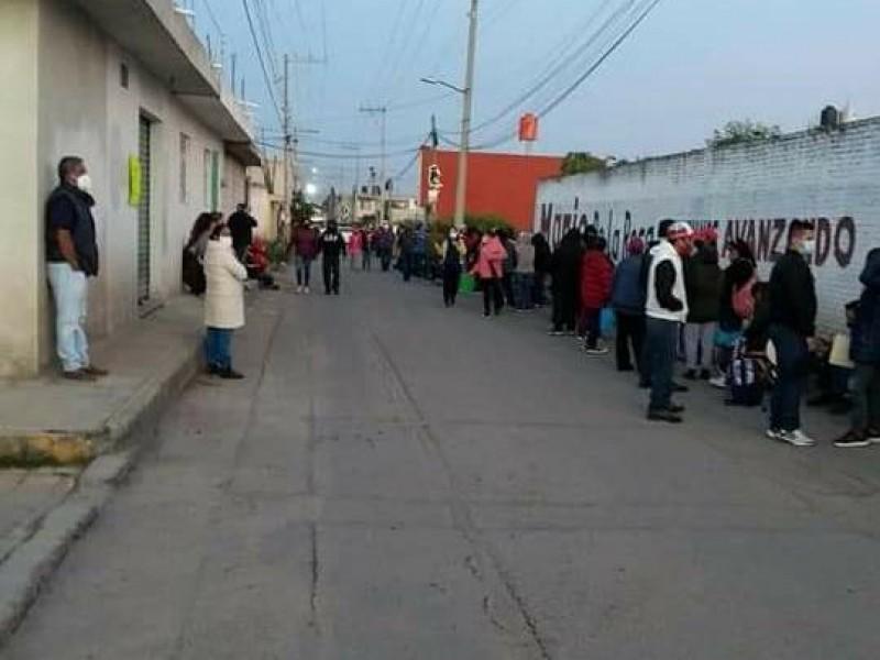 Mala organización en jornada de vacunación en Chachapa
