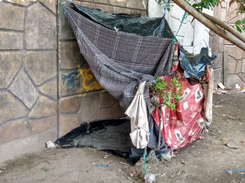 Malecón del Río hogar de indigentes en León
