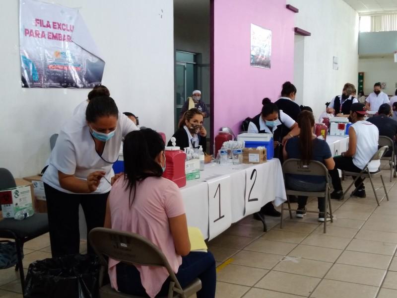 Mañana último día de vacunación en Jacona