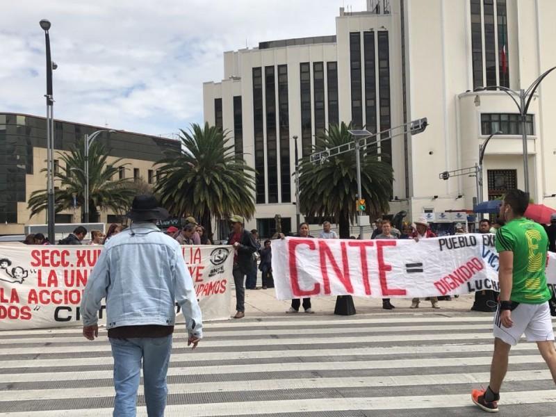 Manifestaciones afectan la circulación en la CDMX