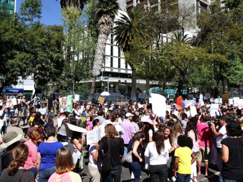 Manifestaciones complican vialidad en la CDMX