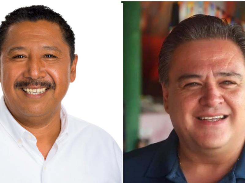Mantendrán Adán Zamora y  Rodolfo Pedroza candidaturas
