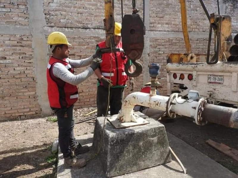 Mantenimiento preventivo en pozo de agua afectará a 4 colonias