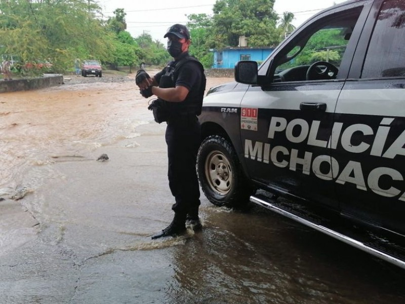 Mantiene vigilancia SSP ante paso de tormenta tropical