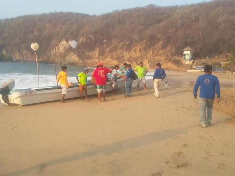 Mar arrastra a 4 personas; CEPCO activa protocolos de búsqueda