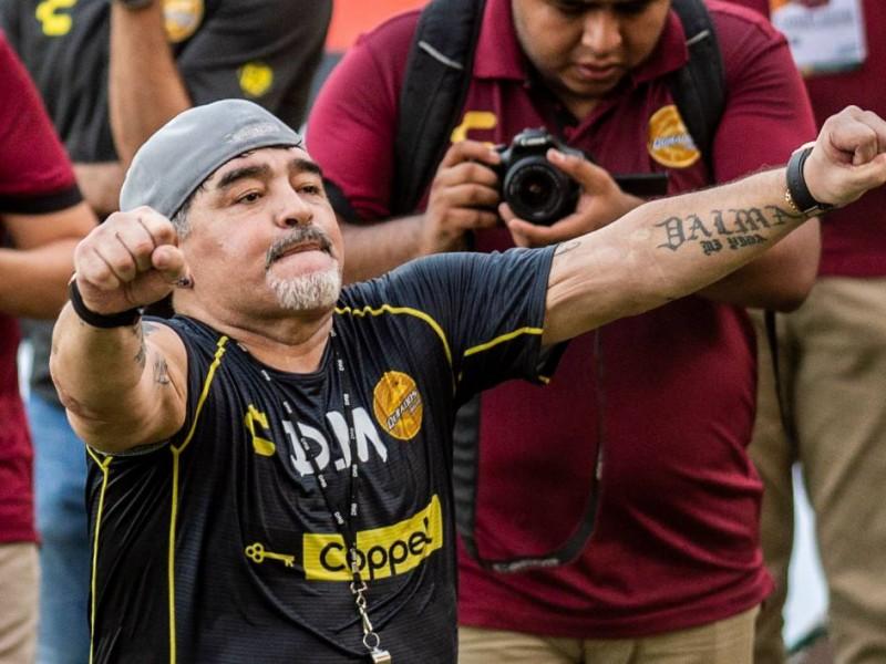 Maradona, todo disponible para debutar en Dorados