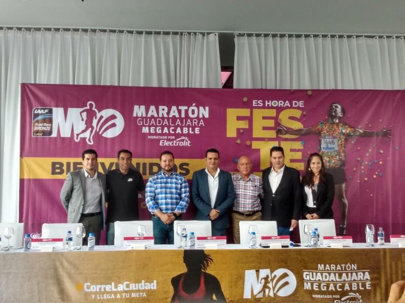 Maratón Guadalajara Megacable buscará etiqueta plata