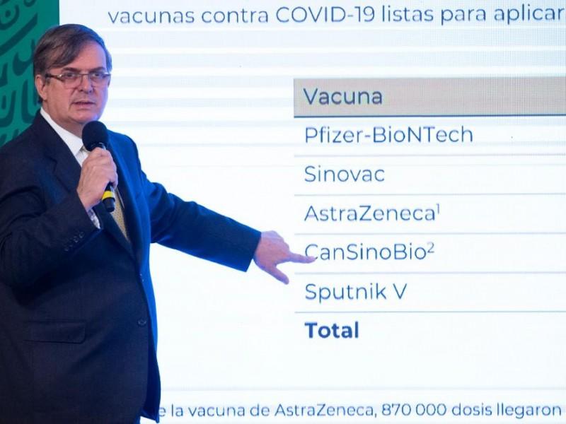 Marcelo Ebrard saldrá de gira para conseguir más vacunas