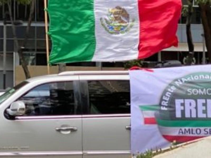 Marcha contra AMLO en CDMX