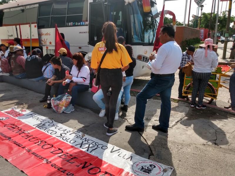 Marcha MOCRI, pide regularización de invasión