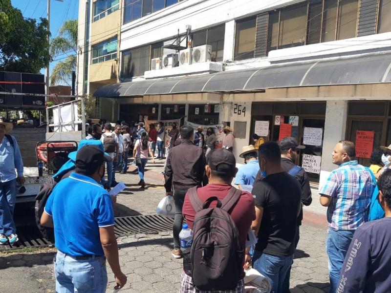 Marcha nuevamente magisterio michoacano en Morelia