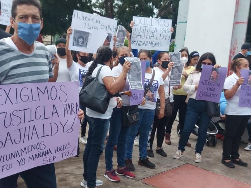 Marchan para exigir justicia por asesinato de Sajhaidy