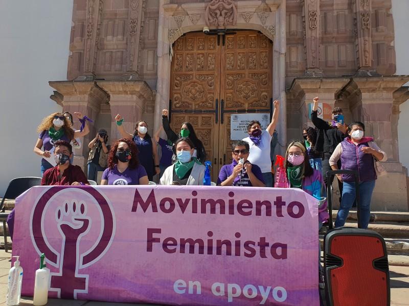 Marcharán mujeres el 8M en Zacatecas