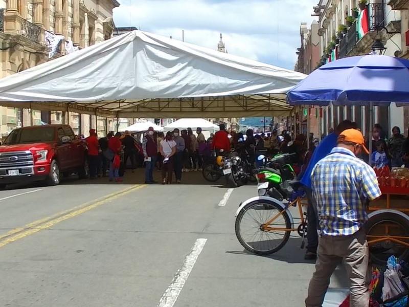 Marchas y plantones provocan hasta 30% en pérdidas a comerciantes