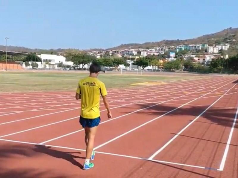 Marchistas internacionales entrenan en Ixtapa-Zihuatanejo previo a Juegos Olímpicos 2021