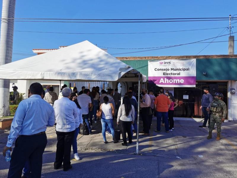 CME recibe recurso de impugnación elección presidente municipal