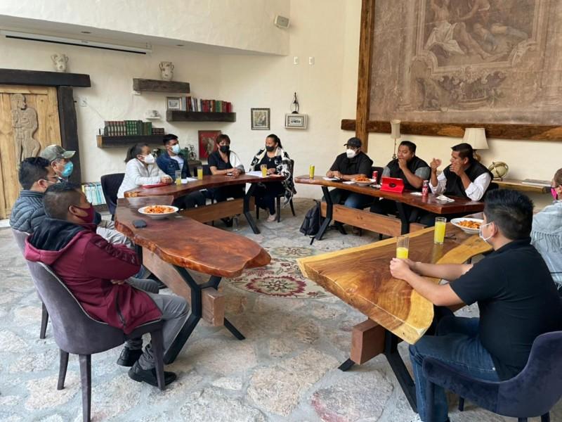 Margarita Feregrino de RSP se reunió con ciudadanos