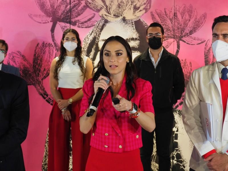 María Alemán arranca campaña para alcaldía de Querétaro
