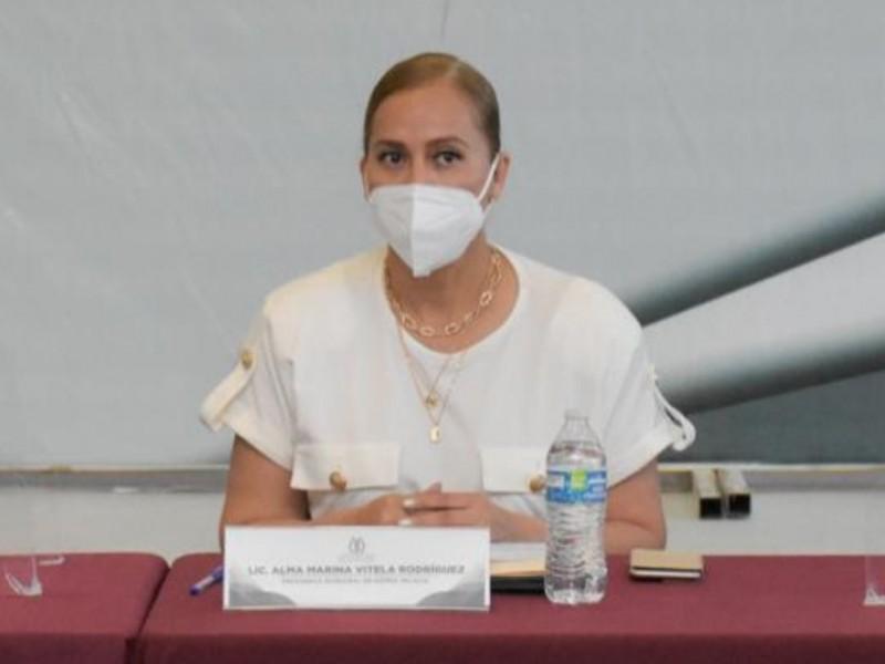 Marina Vitela felicita a ambientalista por retirar amparo