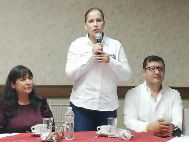 Marina Vitela llama a la unidad de Morena