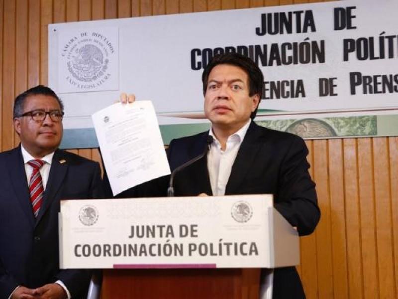 Mario Delgado presidió la Junta de Coordinación Política