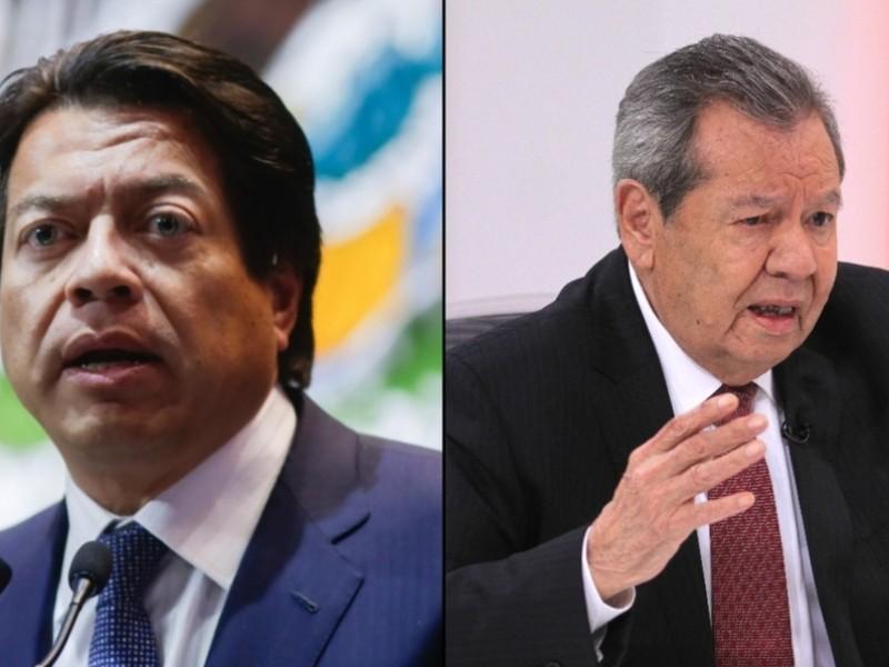 ¡Morena aún sin presidente! Empatan Muñoz Ledo y Mario Delgado