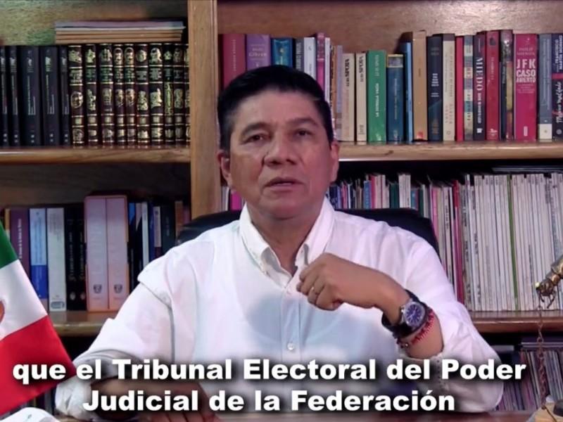 Mario Moreno reconoce decisión del TEPJF a Evelyn Salgado