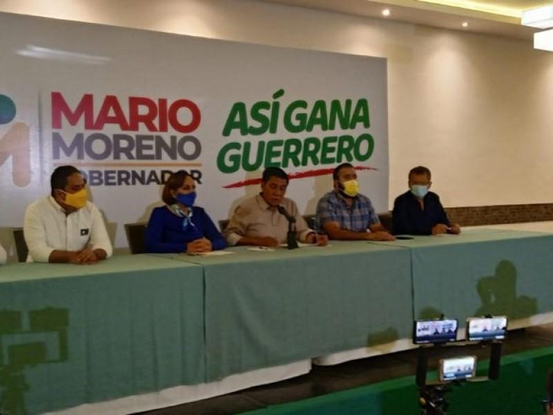 Mario Moreno valorará pedir nulidad de la elección a gobernador