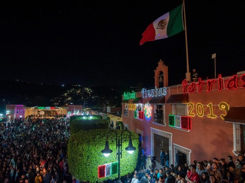 Marquesinos celebran grito de independencia