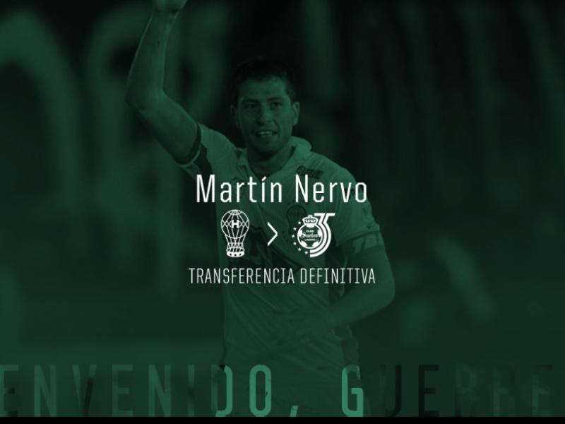 Martin Nervo nuevo refuerzo santista