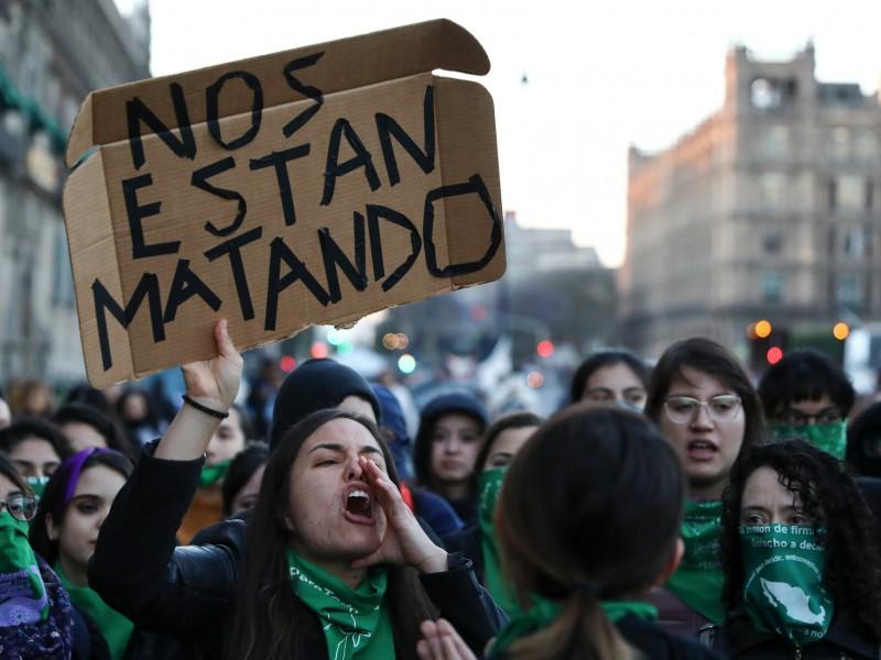 Marzo, el mes más violento para las mujeres