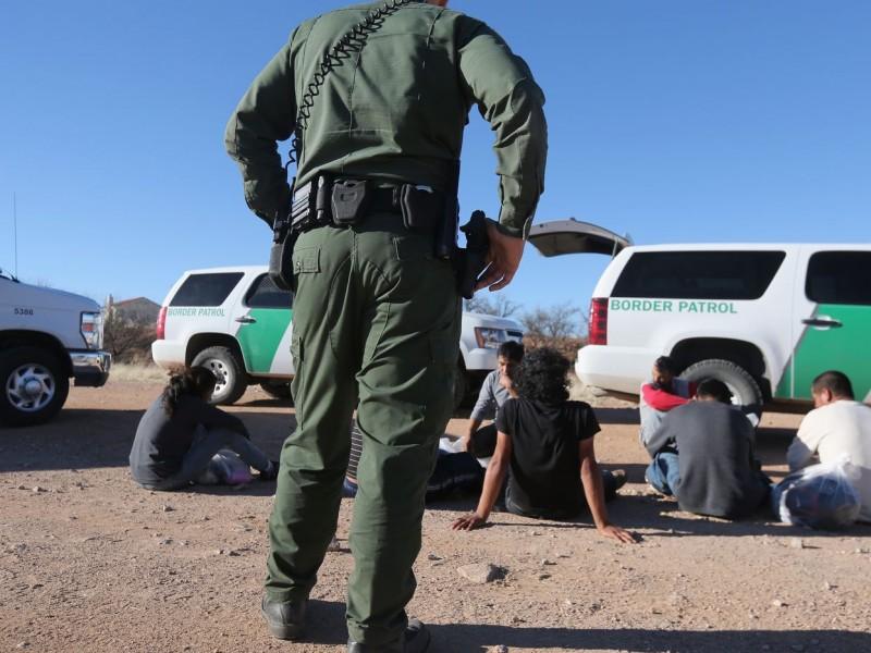 Marzo, mes récord de detención en la frontera
