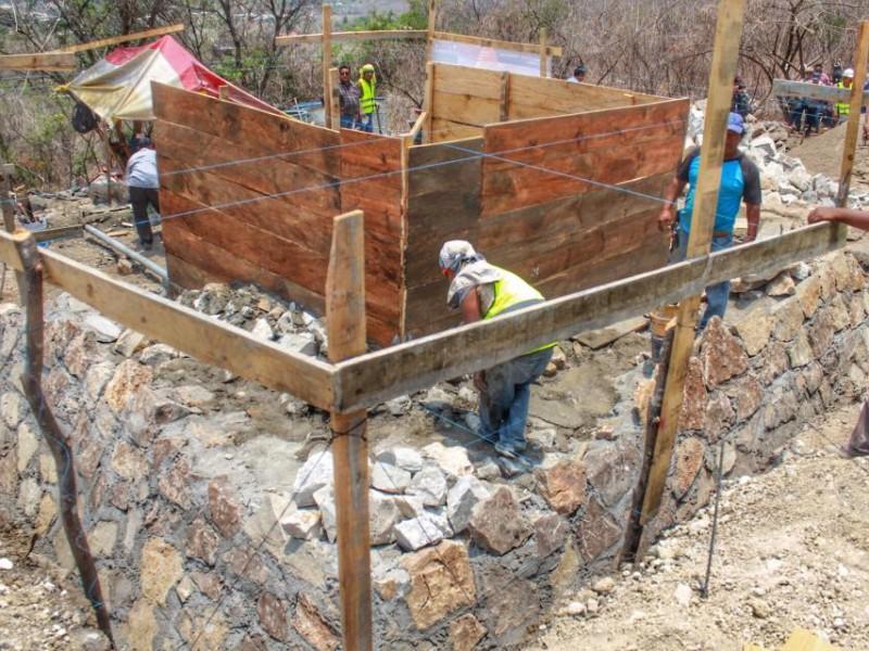 Más agua potable a pobladores de Chiapa