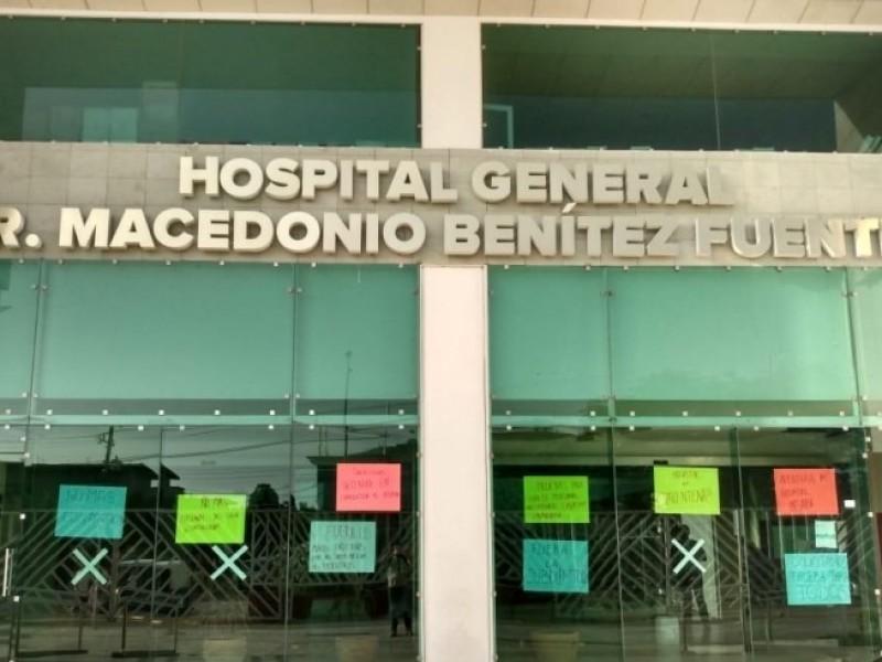 Más de 100 trabajadores positivos a Covid en Hospital MBF
