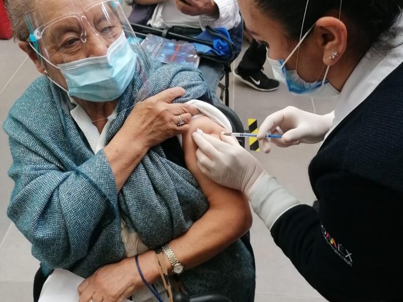 Más de 12 millones de mexiquenses han sido vacunados
