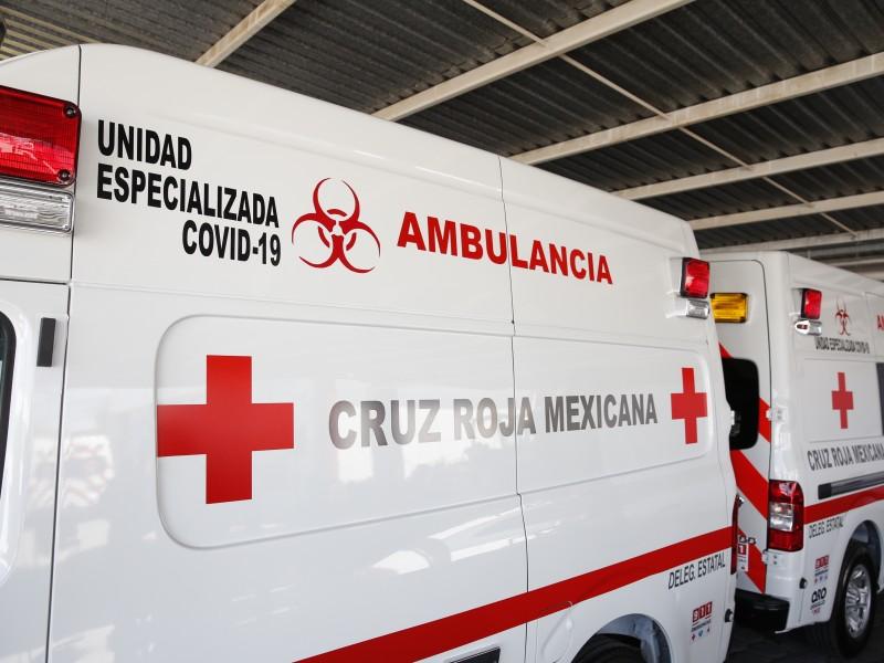 Más de 140 atenciones COVID-19 ha otorgado Cruz Roja