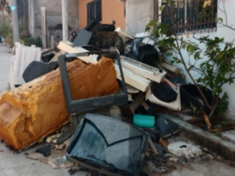 Más de 150 toneladas de basura en tiraderos
