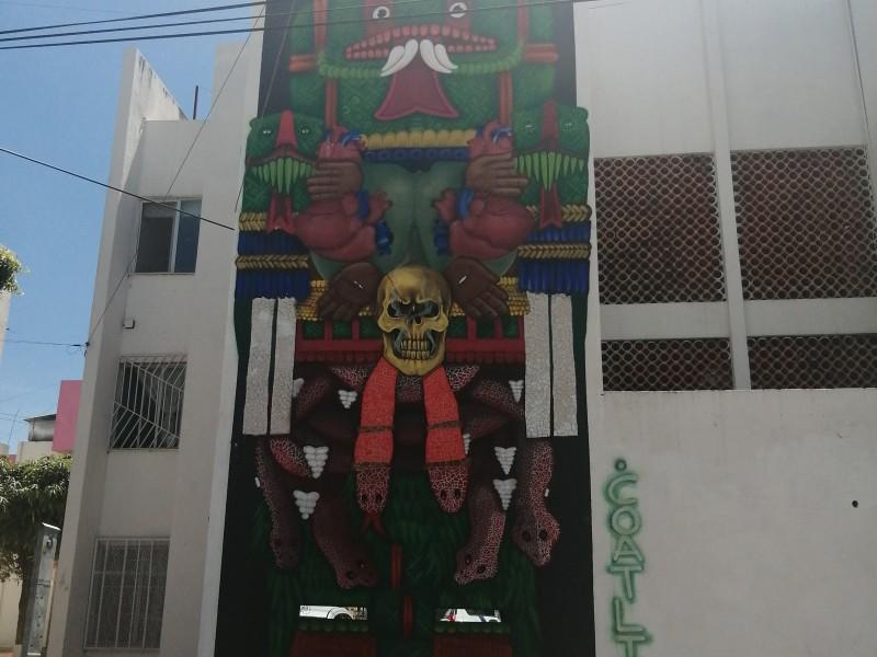 Más de 160 murales decoran la ciudad de León