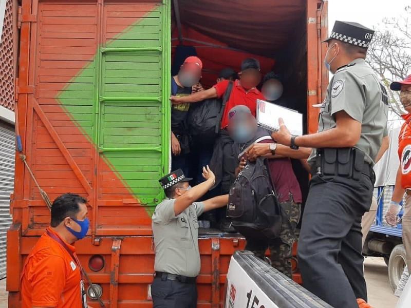 Más de 2 mil migrantes han sido resguardados en Veracruz