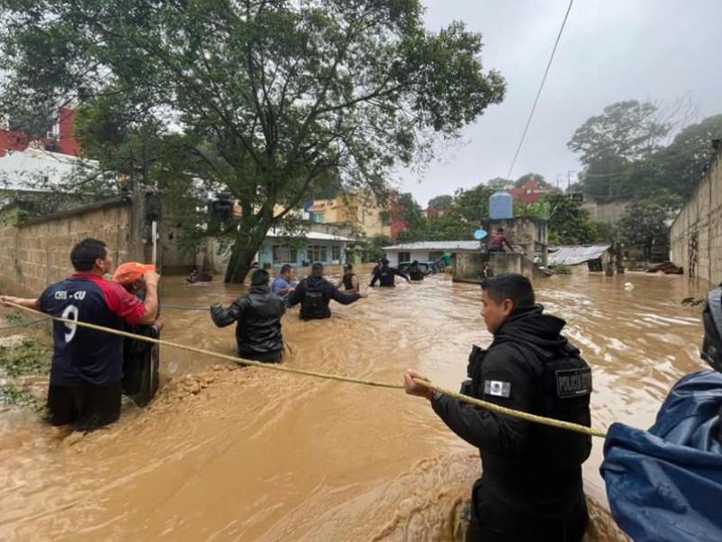 Más de 20 municipios veracruzanos afectados por Grace