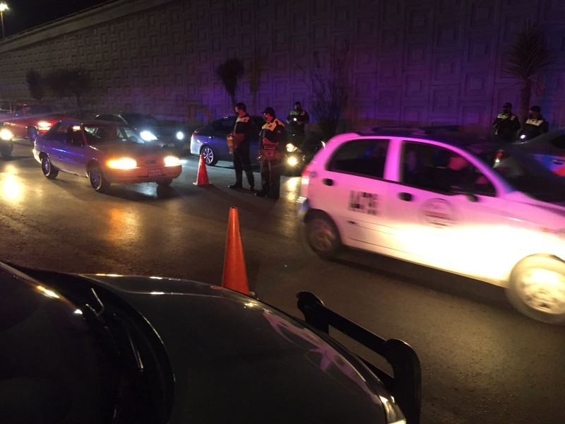 Más de 20 vehículos enviados al corralón por Operativo Alcoholimetría