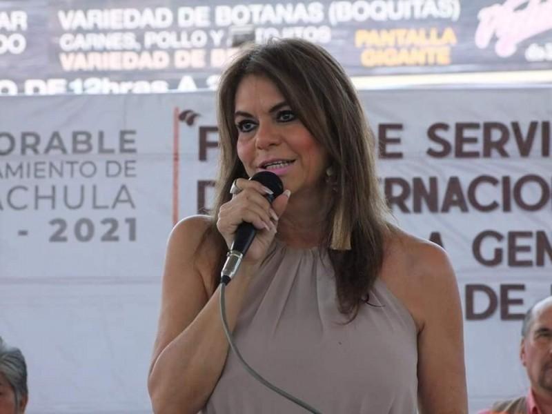 Más de 200 obras en Tapachula afirma alcaldesa