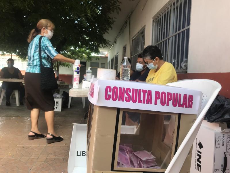 Más de 3 mil mesas se instalaron en Veracruz