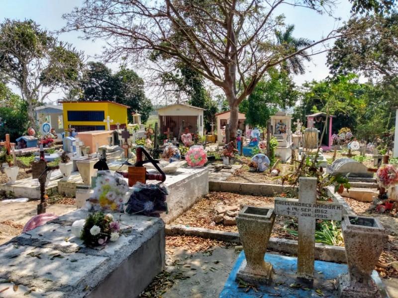 Más de 3 mil tumbas; urge nuevo panteón