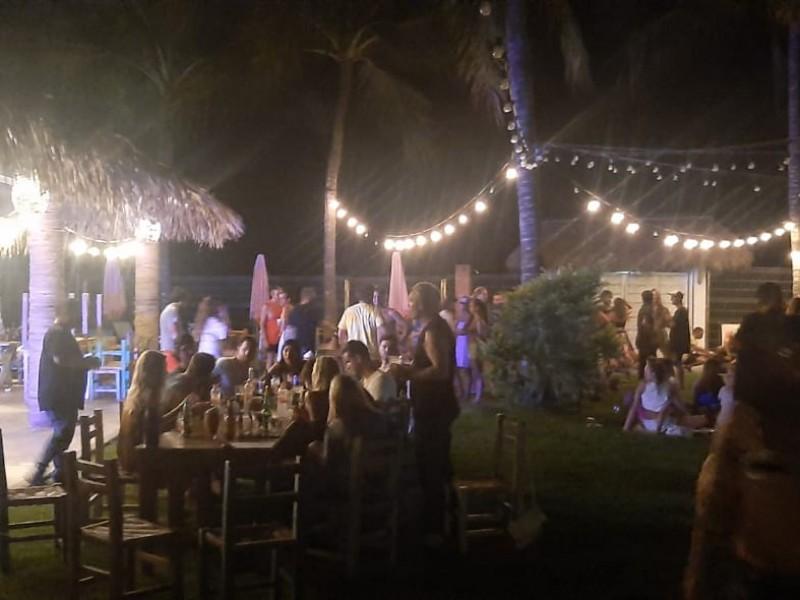 Más de 300 personas son retiradas de fiesta en BADEBA