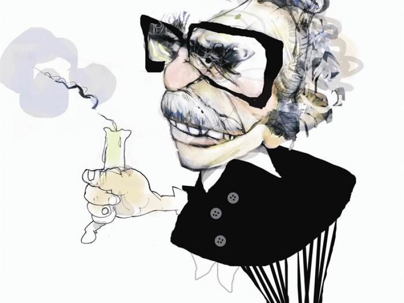 Más de 40 caricaturas de Gabriel García Márquez