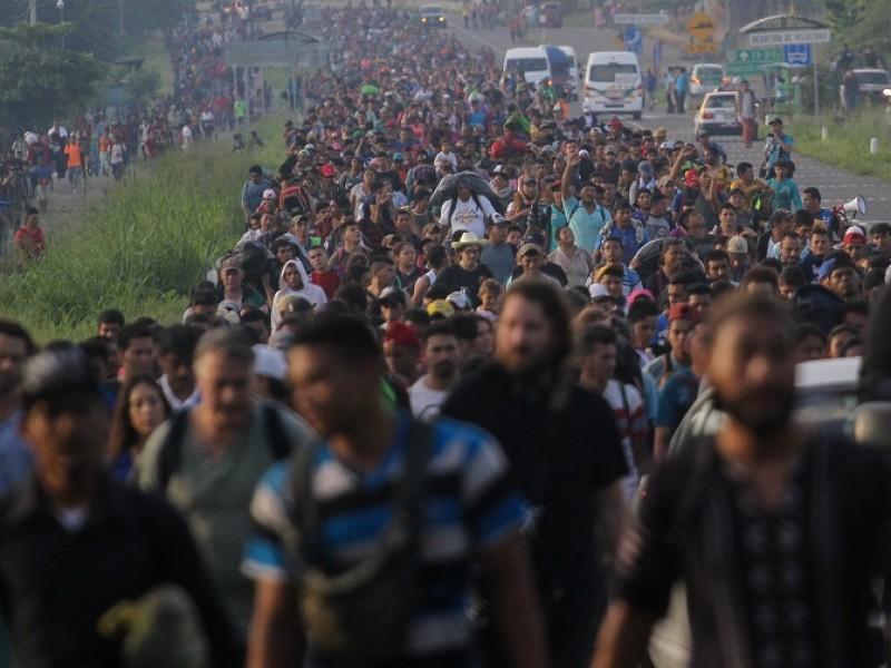 Más de 5 mil migrantes varados en Chiapas