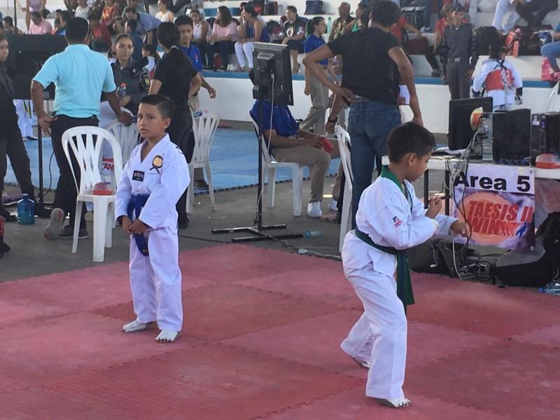 Más de 500 competidores en Torneo de Taekwondo